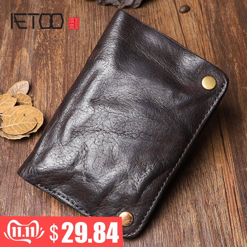 Original Handmade Wrinkle Wallet…