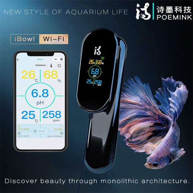 Аквариумные аксессуары монитор качества воды Wi-Fi 5 в 1 TDS & pH & Temp метр качество воды в реальном времени цифровой измеритель