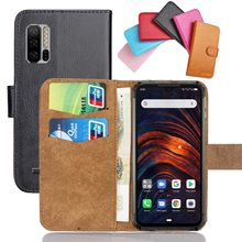 Ulefone – coque de téléphone Armor 7 en cuir souple, étui à rabat de 6.3 pouces, 6 couleurs, Crazy Horse, étui avec fonction de support, portefeuille pour cartes de crédit