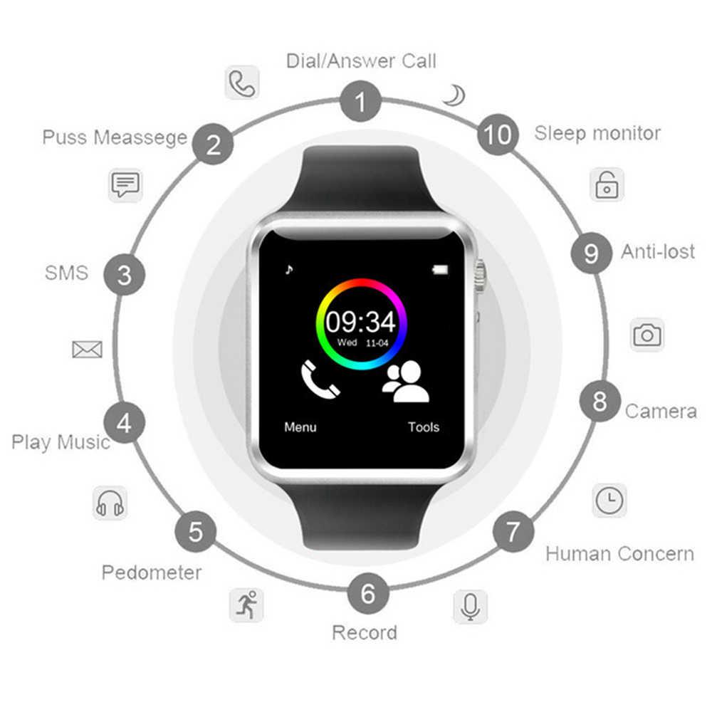 Đồng Hồ Thông Minh Bluetooth Mặt Số/Trả Lời Thẻ Sim TF Camera Fitnesse Theo Dõi Màn Hình Ngủ Vòng Tay Dành Cho Android IOS Xiaomi Huawei pkZ60