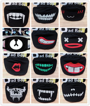 Unisex Korean Style Face Mouth Mask 22 Styles Mouth-muffle Respirator Stop Air Pollution Cartoon Cotton