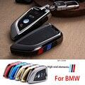 Покрытие пульта дистанционного управления держатель для ключей на сумку подходит bmw blade брелок автомобильный чехол для ключей для BMW X1 X5 X6 F15 ...