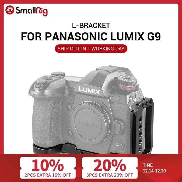 كاميرا صغيرة G9 L قوس لباناسونيك Lumix G9 L لوحة الإفراج السريع لترايبود مونوبودس إرفاق 2191