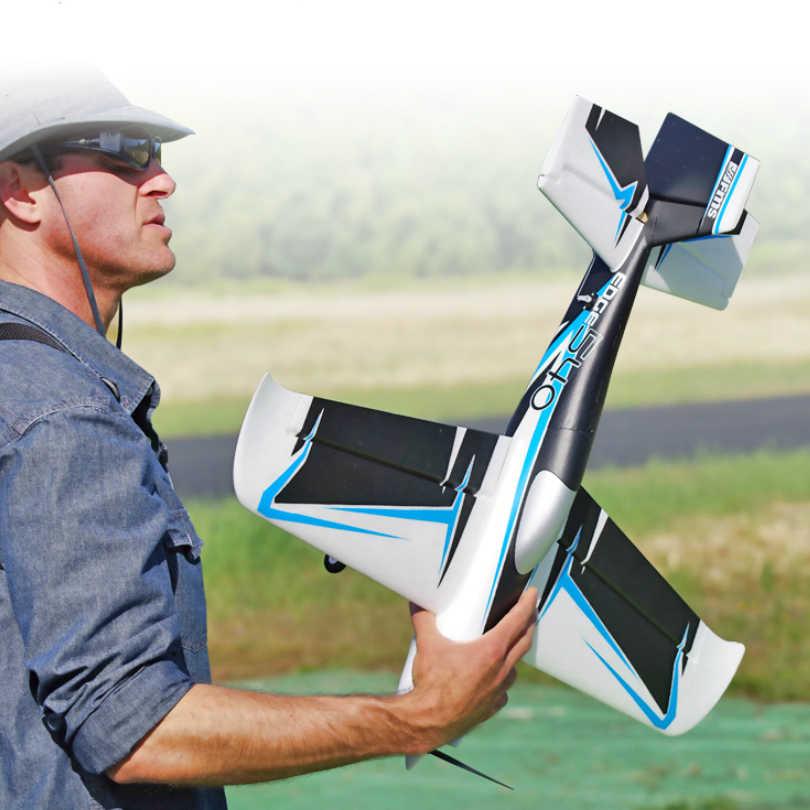 Радиоуправляемый самолет FMS Plane 750 мм Edge 540 Крытый парк флаер 3D Акробатический Спорт с рефлекторным гироскопом авто Баланс PNP модель самолет для хобби