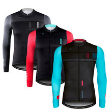 2018 Autumn Top Quality Cycling Jersey Long Sleeve MTB Clothing Sportswear Mountain Bike