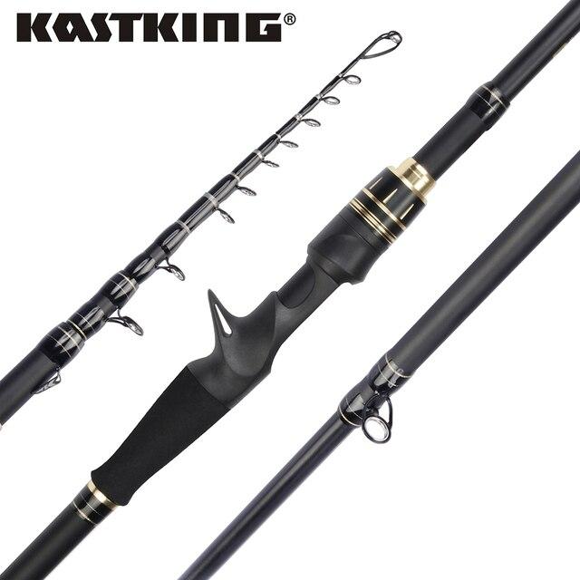 KastKing BlackHawk II Telescopic Fishing Rod
