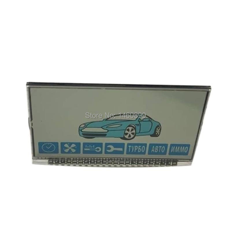 A91 LCD Display Screen For Two Way Car Alarm System Starline A91 Lcd Remote Control Key Fob Chain