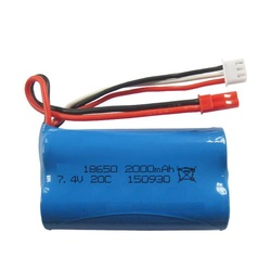 7.4v 2000mah 20C li-ion battery for F45 F645 T23 t40c f39 f639 DH9101 9053 9104 R/C helicopter spare parts high power