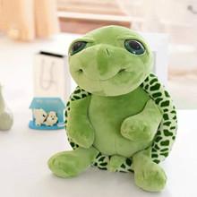 18CM żółwiem morskim pluszowe zabawki zielone Kawaii wielkie oczy Ragdoll miękkie dzieci chłopiec dziewczyna poduszka wakacje urodziny prezenty dekoracja Juguetes tanie tanio CN (pochodzenie) Tv movie postaci COTTON MATERNITY W wieku 0-6m 7-12m 13-24m 25-36m 4-6y 7-12y 12 + y 18 + Lalka pluszowa nano