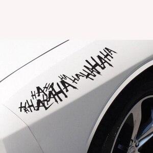 Image 2 - Für 1 stücke Joker Hahaha Ernsthafte Super Schlechte Bösen Seite Körper Batman Gotham Auto Aufkleber Aufkleber
