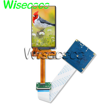 wisecoco OLED AMOLED display 5 Inch 720x1280 lcd screen mipi hdmi controller board H497TLB01.0 CELL 100% NTSC