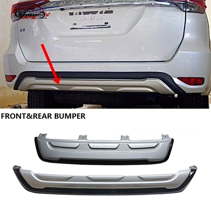 citycarauto exterior auto front bumpers fit for fortuner front rear bumpers 2015 2018 car|Bumpers| |  - title=