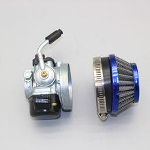 Carburetor with Air Filter for KTM 50 SX Pro Junior LC Mini Adventure Aftermarket 19mm +35mm Replace 45131001100 & C064513100(China)