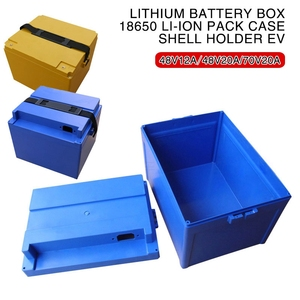 ABS+PC 48V 60V 72V 20Ah 12Ah Lithium Battery Box 18650 li-ion Pack Case Shell Holder EV Tool Parts Insulation Moisture Proof(China)