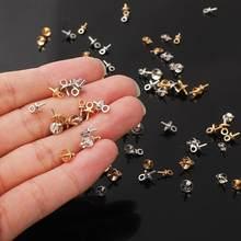 50 pçs/lote diy moda jóias acessório pendurado boné garra unhas liga material ródio chapeamento pingente fazendo departamento