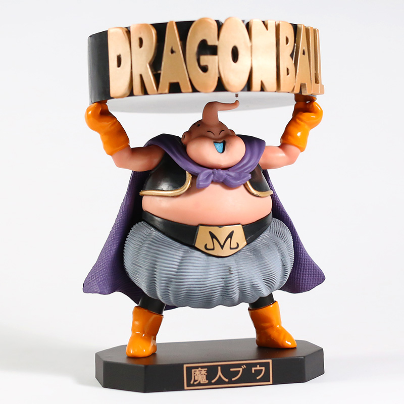 Majin Buu Ashtray Action Figure Decorations Japan Anime Character Pvc Figurines Collectible Model Toys