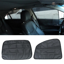 2pcs Detachable Car Side Window Curtain Sunshade UV Shield Auto Cars Curtains Flexible Car Covers Auto Styling Accessories car styling car covers cushion auto accessories protector cubre car coche funda asientos para automovil automobiles seat covers