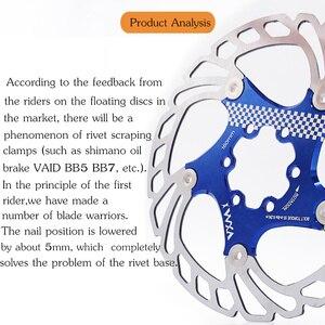 Image 3 - VXM Brake Disc Pads 140/160/180/203mm Bike Brake Rotors MTB Cooling Float Disc Brake Bicycle Accessories Float Brake Disc Pads
