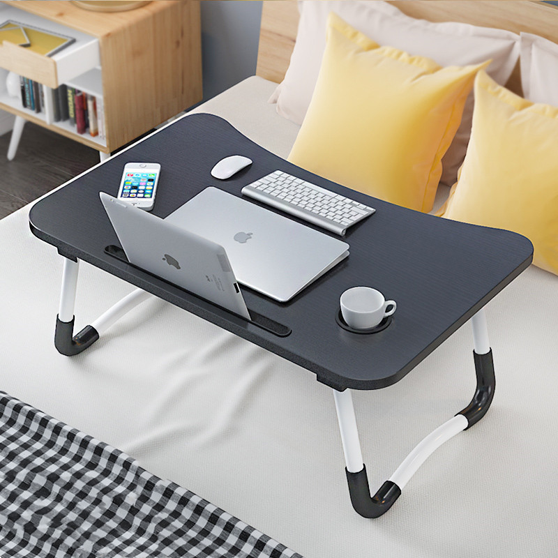 Laptop Folding Computer Desk Lazy Students Dormitory For Multi-functional Small Table Simple Dormitory Bed Desk