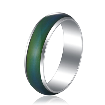 Classic Temperature Change Color Mood Ring Hot Sale Jewelry Smart Discolor Rings Best Gift For Friends Free Shipping 2