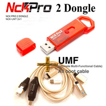 2020  Newest Original NCK Pro Dongle NCK Pro2 Dongl +MUF ALL BOOT CABLE ( NCK DONGLE+UMT DONGLE 2 in1 ) Free Shipping