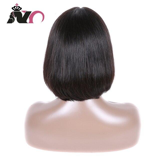 NY włosy Bob koronki przodu peruki brazylijski włosy 100% ludzki włos koronki przodu peruki prosto Bob koronki przodu peruki dla czarnych kobiet