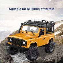 1:12 MN-90 RC Crawler Car 2.4G 4WD Remote Control Big Foot Off-road Crawler Military Vehicle Model RTR Remote Control Truck Toys