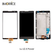 LCD Display For LG X Power K220 K6P F750 K210 F750K K220DS Touch Screen Digitizer Assembly Replacement Black with/No Frame 5.3