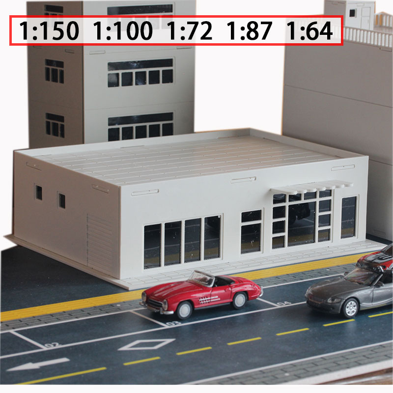 Miniature Model  Simulation Building  Store Convenience Store Model  Street View Scene 1:150 / 100 / 72 / 87 / 64