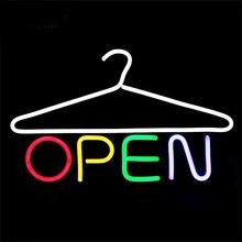 Открытый свет светодиод неон лампа одежда магазин бар ресторан клуб украшение реклама освещение неон лампы произведения искусства лампа