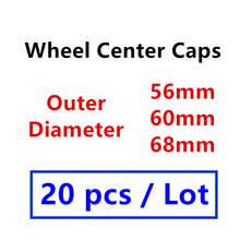 Badge Cover Center-Hub-Caps Logo-Emblem Wheel Car-Styling-Accessories 56mm 60mm 68mm