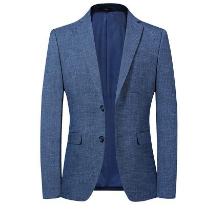 2020 Classic Gentleman Blazers British Luxury Blazer Suit Dress Jacket For Men Slim Fit Business Casual Summer Men's  Jackets