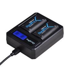 Pack de batterie 2x2500mAh pour manette de jeu sans fil Xbox One / Xbox One S/Xbox One X/Xbox One Elite, avec chargeur USB LCD