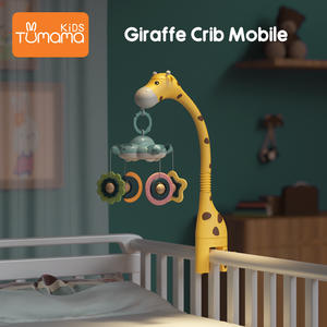 Baby Rattles Crib Mobiles Toy Holder Rotating 360°flexible Rotation Mobile Newborn's Crib Musical Box Projection Infant Baby Toy