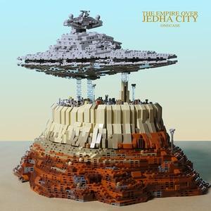 Image 4 - 2019 новая модель MOC Звездные войны Разрушитель Империя Over Jedha модель строительные блоки кирпичи игрушки на день рождения