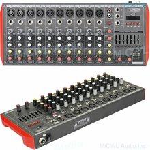 Портативный Аудио миксер pro mg12 bluetooth 12 каналов usb mp3