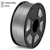 Filamento PETG 1kg 1.75mm tolleranza 0.02mm materiale stampante FDM 3D con bobina 100% atossico ad alta resistenza senza filamenti di bolle