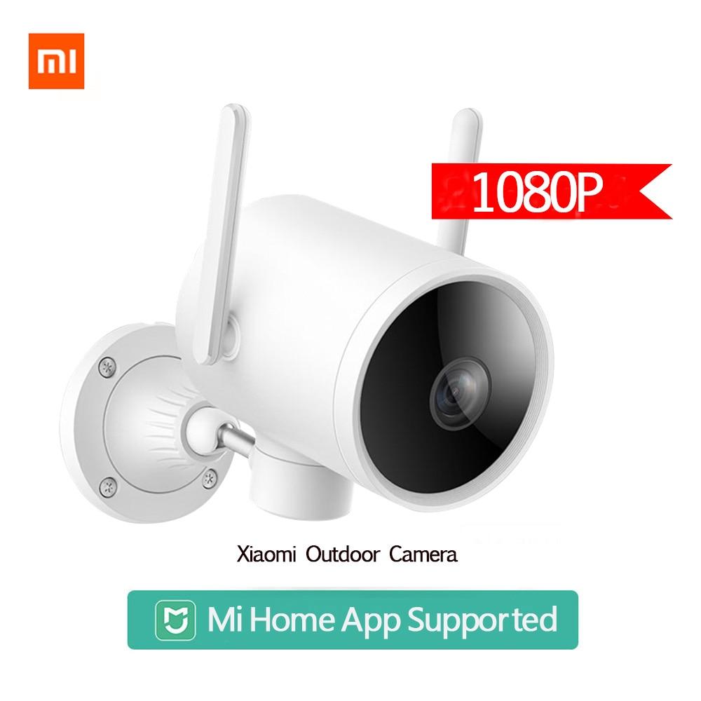 2020 Xiaomi Smart Открытый Водонепроницаемая камера IP66 Wi-Fi, веб-камера 270 угол 1080P IP камера двойная антенна сигнала ночного видения Mi Home