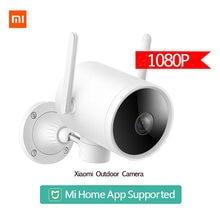 Xiaomi 2k 1296p câmera ao ar livre inteligente versão global à prova dwaterproof água ip66 wifi webcam 270 ângulo ip câmera antena dupla sinal mi casa