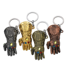 Anime Movie Marvel Avengers Figures Iron Man Gauntlet Keychain Toys Thanos Glove Gauntlet Thor Hammer Mjolnir Replica Kids Toys 29cm thor s hammer toys new avengers super heroes thor hammer cosplay toy plastic hammer action figures for kids christmas gifts