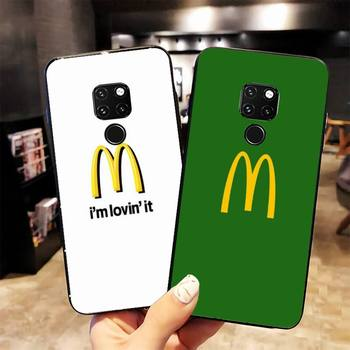 McDonald's MetroCard Phone Case For Huawei Honor 7A 8X 9 9lite 10lite 20lite 10i 20i 20 7APro 7C 8C 5A 8A Honor Play 9X pro image