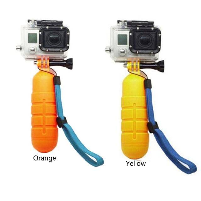 Gosear FLOAT Hand Grip bobber ลอยตัว Rod POLE Stick ขาตั้งกล้อง Monopod สำหรับ GoPro Go Pro Hero 5 4 3 2 xiaomi Yi 4 K SJCAM SJ4000 H9