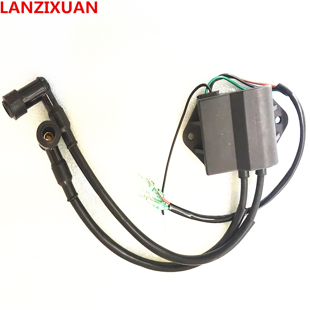 Free Shipping Parts For TOHATSU 2 Stroke 9.8HP Outboard Motor Ignition Coil 3B2-06060-0