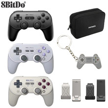 8bitdo SN30 PRO+ Wireless Joystick Bluetooth Remote Game Controller Gamepad for Windows/Android/macOS/Nintendo Switch(China)