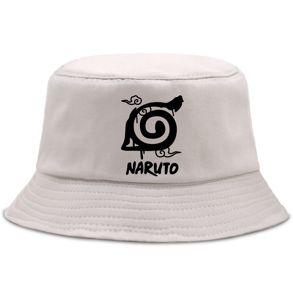 Kakashi Sensei Summer Bucket Hat Foldable Fisherman Panama Naruto Anime Unisex