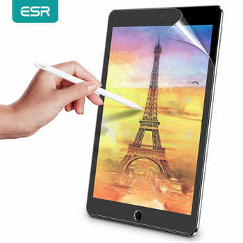 ESR Paper Feel Screen Protector Film Matte PET Anti Glare Painting For Apple iPad 7 9.7 Pro 10.2 10.5 12.9 inch mini 1 2 3 4 5