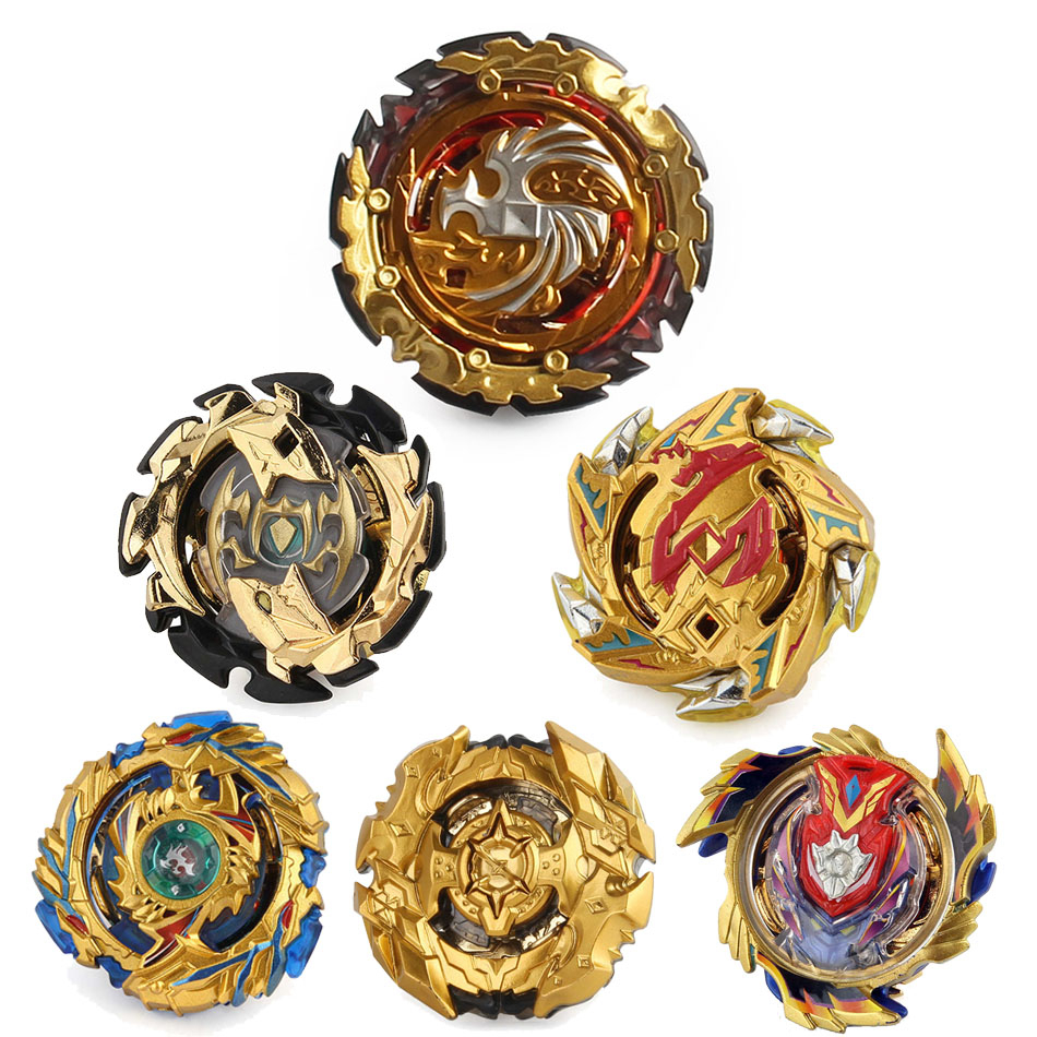 All Models Pitcher Gold <font><b>B</b></font>-149 <font><b>B</b></font>-<font><b>131</b></font> <font><b>Beyblade</b></font> <font><b>Burst</b></font> Toy Bayblade Rotating Gyro Blade Blades Children Top Launcher Spinning Toy image