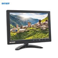 DIYKIT 10.1 IPS HD Screen Car Monitor Rear View Monitor Build in Speaker with BNC / AV / VGA / HDMI Input 1280 x 800