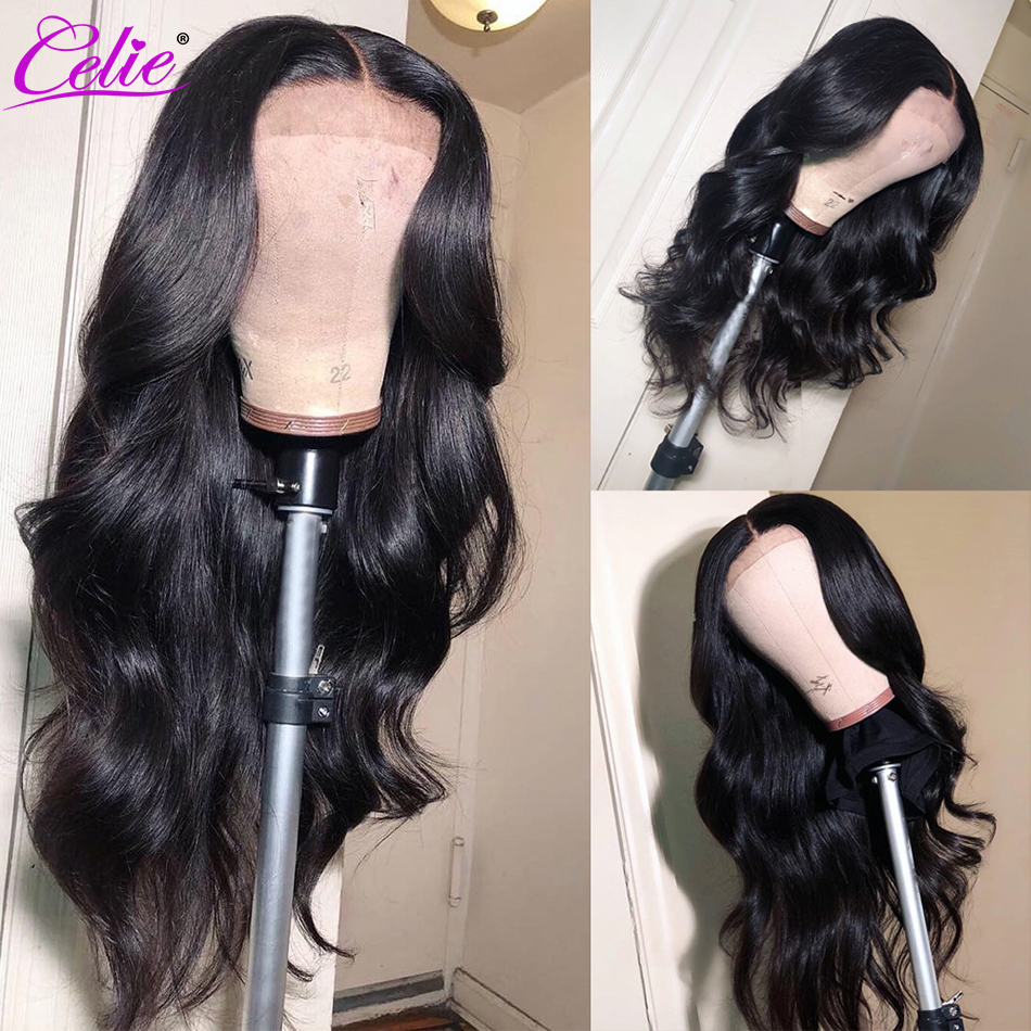 Image 5 - Celie 13x6 Body Wave Wig Lace Front Human Hair Wigs  250 Density Remy Brazilian 360 Lace Frontal Wig Pre Plucked With Baby Hair-in Human Hair Lace Wigs from Hair Extensions & Wigs