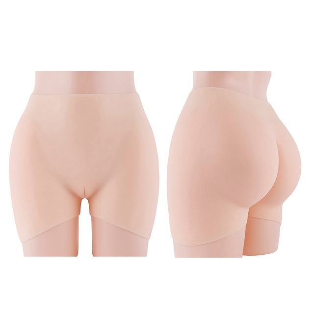Full Silicone Pads Buttocks and Hips Enhancer Fake Hip Body Shaper Lifter Panty Sexy Underwear For Drag queen
